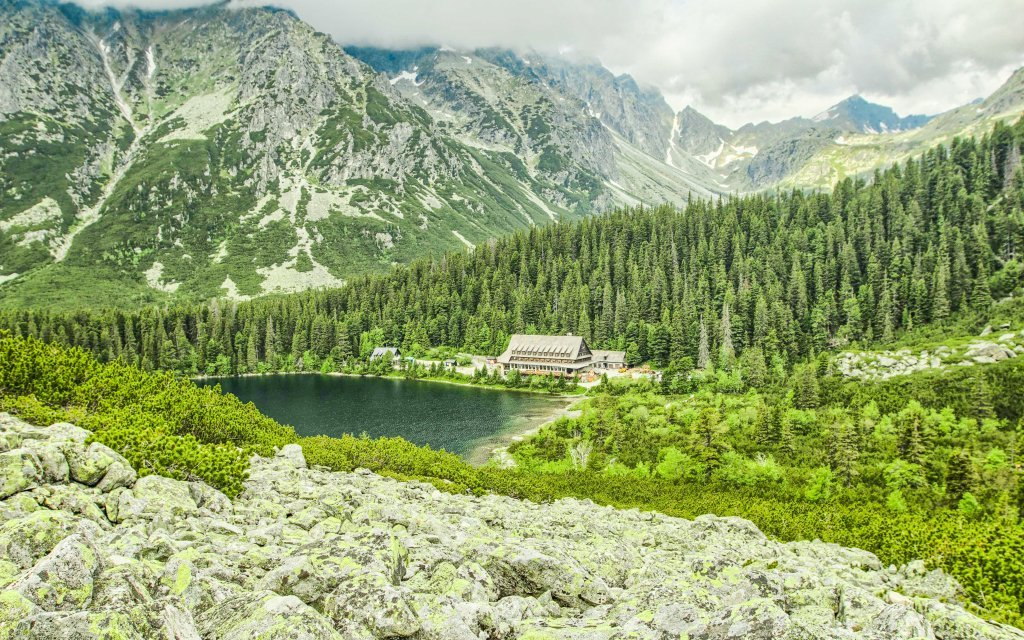 Vysoké Tatry v penzionu Kriváň s polopenzí a slevou do Aquacity Poprad