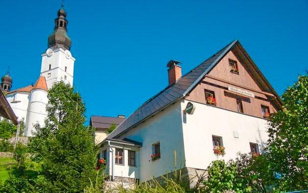 Jeseníky: Penzion Vlaďka s grilem a v obklopení turistických cílů v obci Branná
