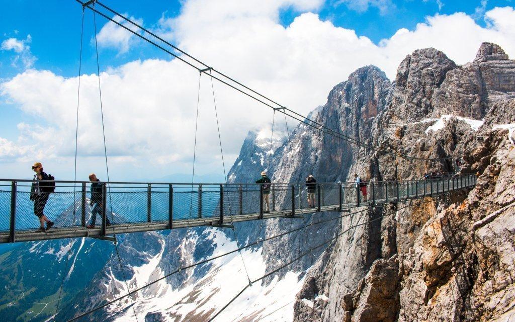 Rakouské Alpy v hotelu Dachstein West *** s polopenzí a vstupem do lázní