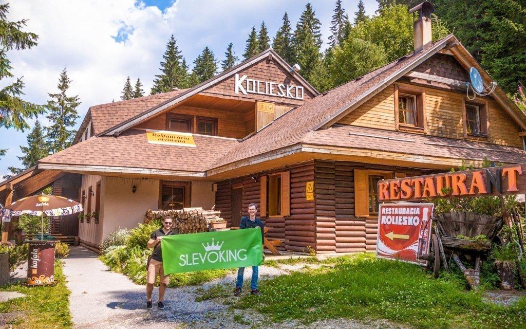 Nízké Tatry s bohatou polopenzí v nejvýše položené horské chatě Koliesko