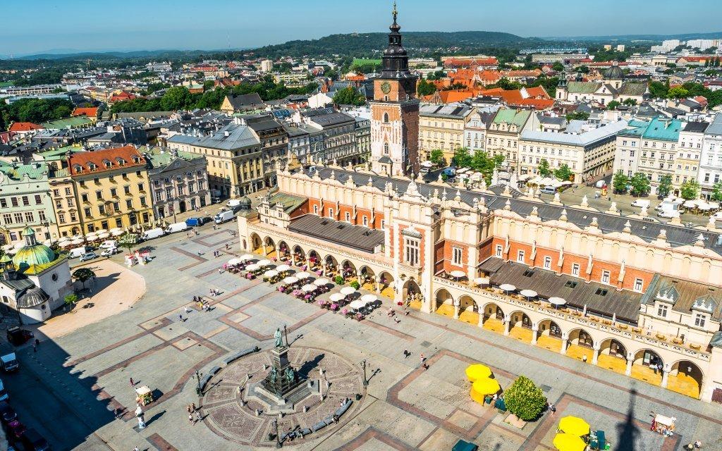 Poznávací výlet do Polska: Krakov a solný důl Wieliczka autobusem s průvodcem