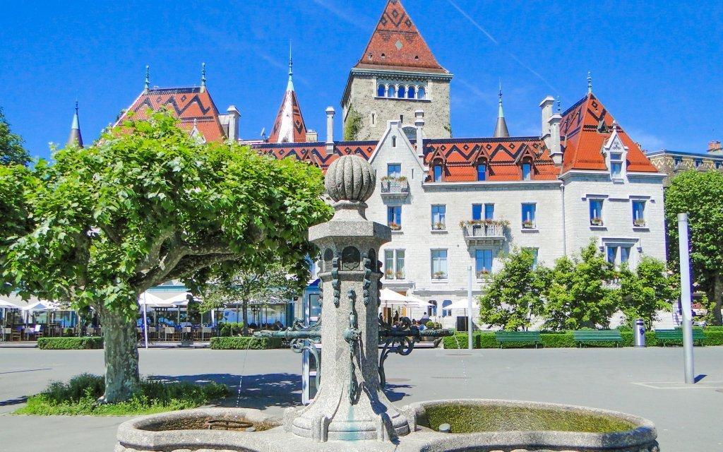Švýcarsko: poznávací zájezd na hrad Chillon, historická města Lausanne a Ženeva