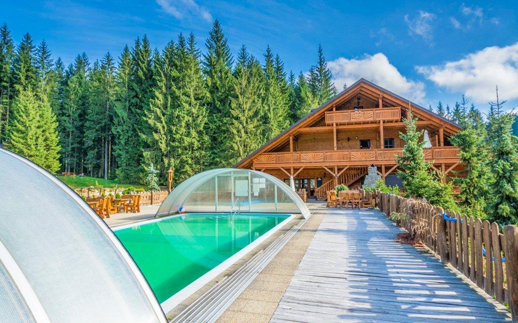 Beskydy v Hotelu Ondrášův Dvůr **** s polopenzí, thermal parkem a wellness