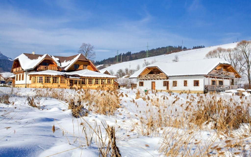 Bešeňová: penzion Gazdovský dvor s polopenzí, slevou do aquaparků a Region Card