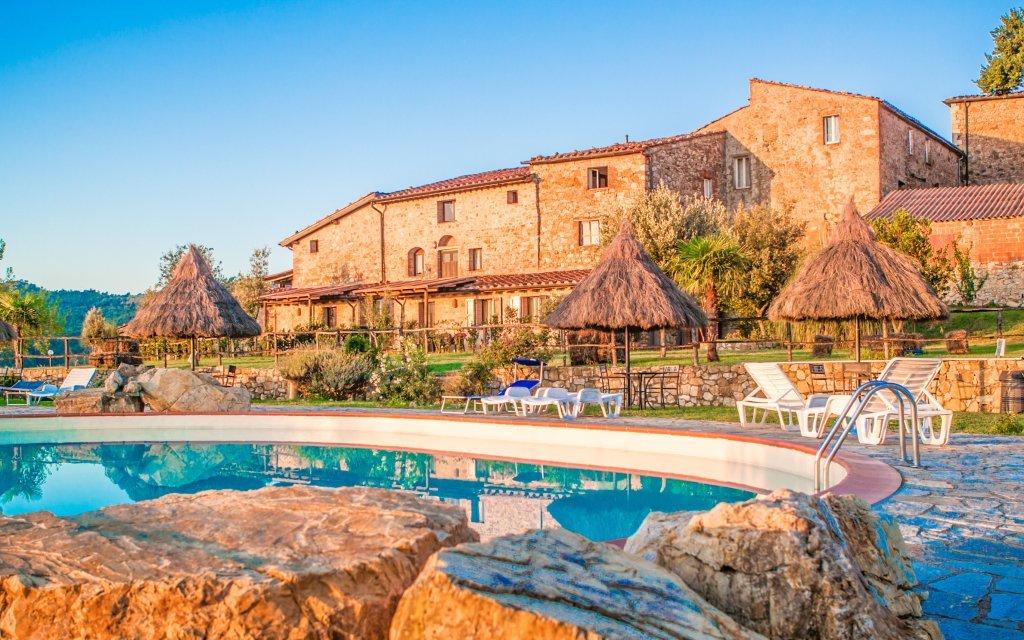 Toskánsko ve stylové vile Fattoria IL Santo s bazénem a ochutnávkou specialit