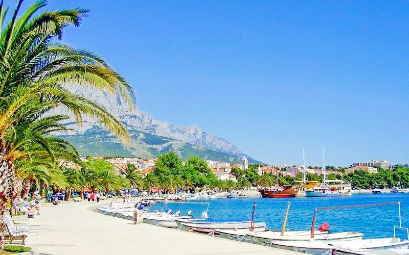 Chorvatsko: dovolená na Makarské riviéře s autobusovou dopravou a delegátem