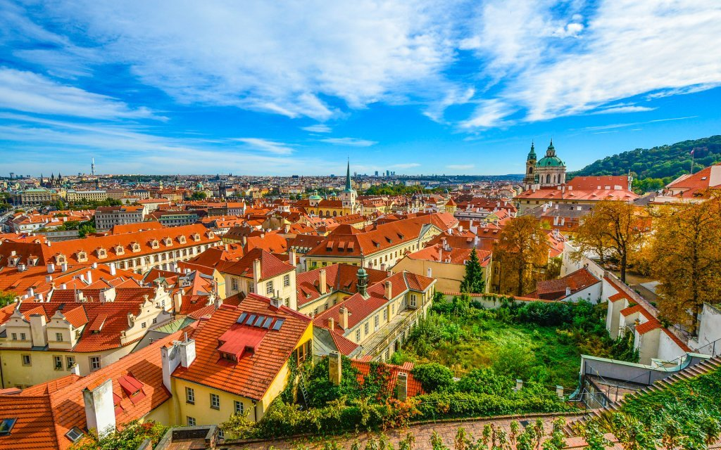 Pobyt v Praze v oceněném Hotelu Aida **** se snídaněmi 15 minut od centra