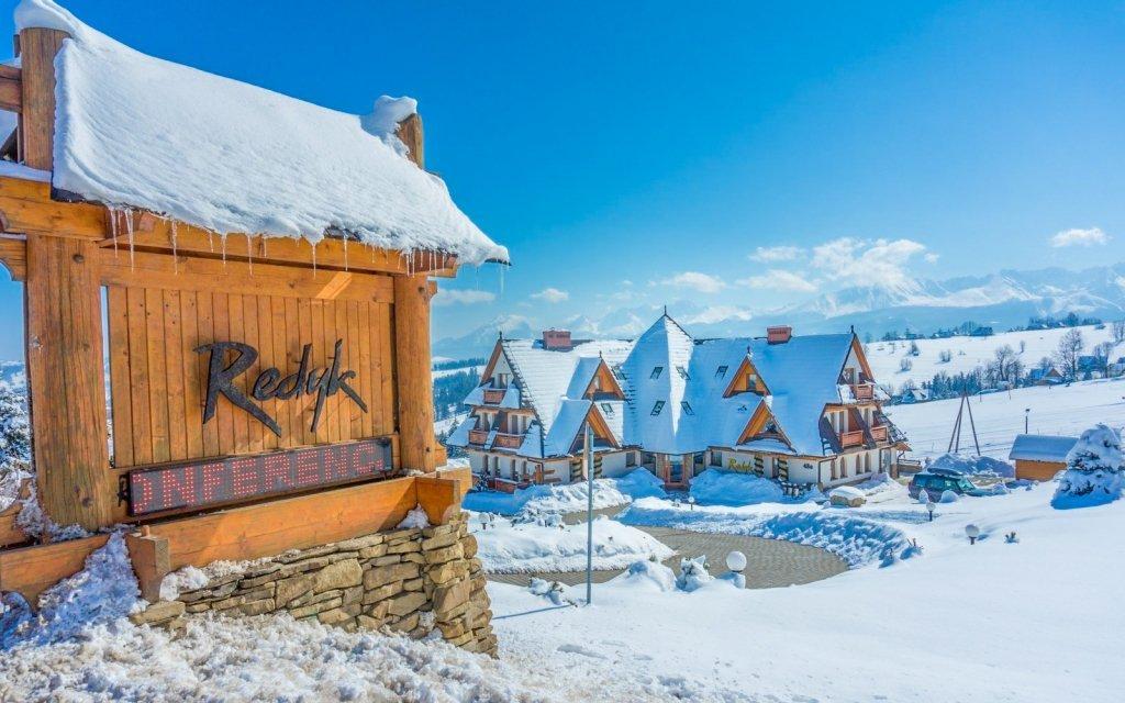 Polské Tatry v Hotelu Redyk Ski&Relax *** u sjezdovky s wellness a polopenzí