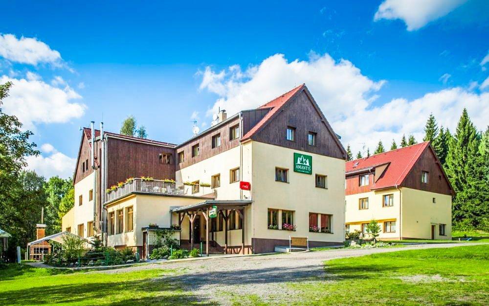 Jizerské hory: Amantis Vital Sport Hotel *** pro rodiny s polopenzí a wellness