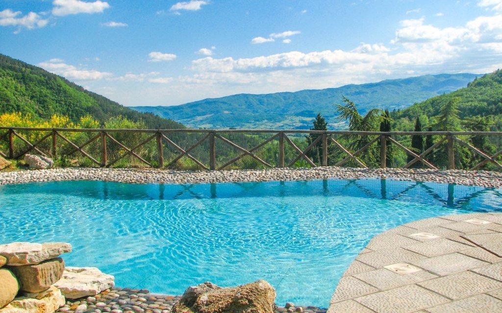 Itálie: Toskánsko se snídaní a bazénem v Hotelu Borgo I Tre Baroni ****