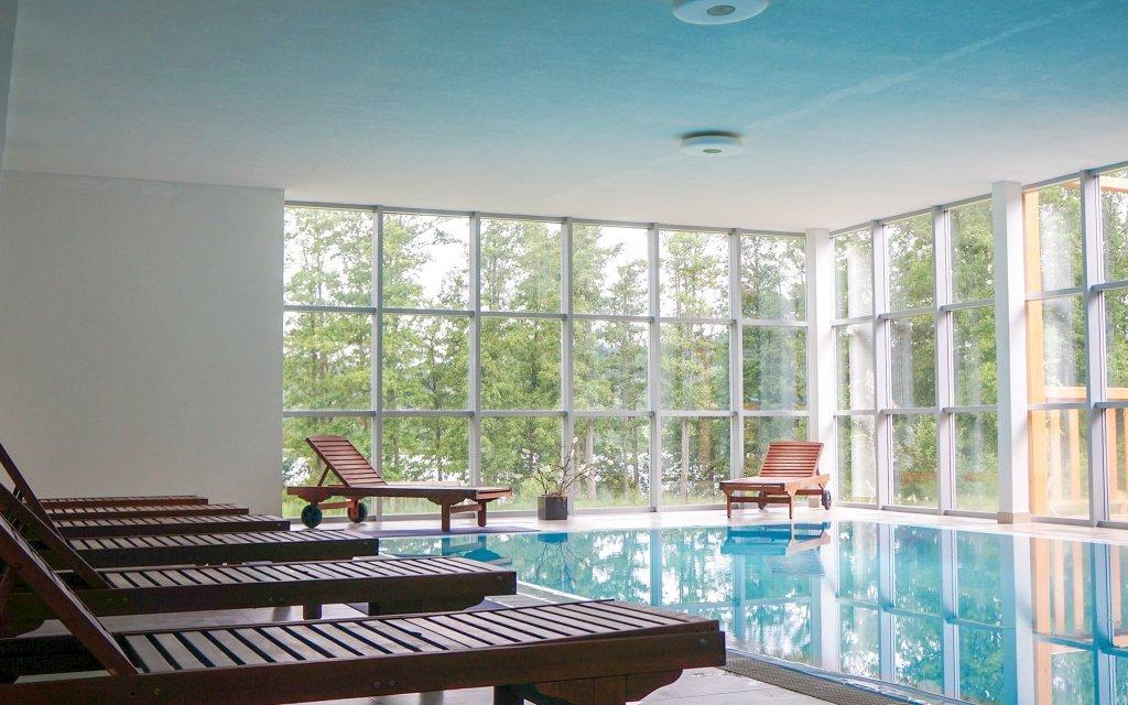 Lipno v luxusním Hotelu Orsino **** s bazénem a polopenzí v bízkosti ski areálů