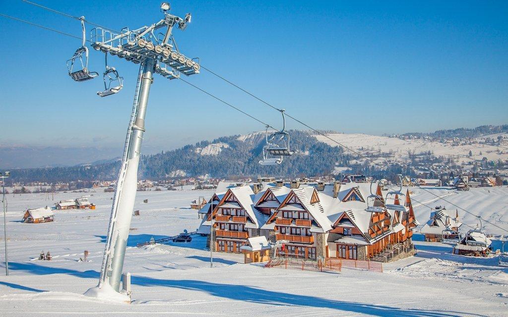 Polské Tatry: Luxusní Hotel Zawrat *** přímo u sjezdovky s wellness a polopenzí