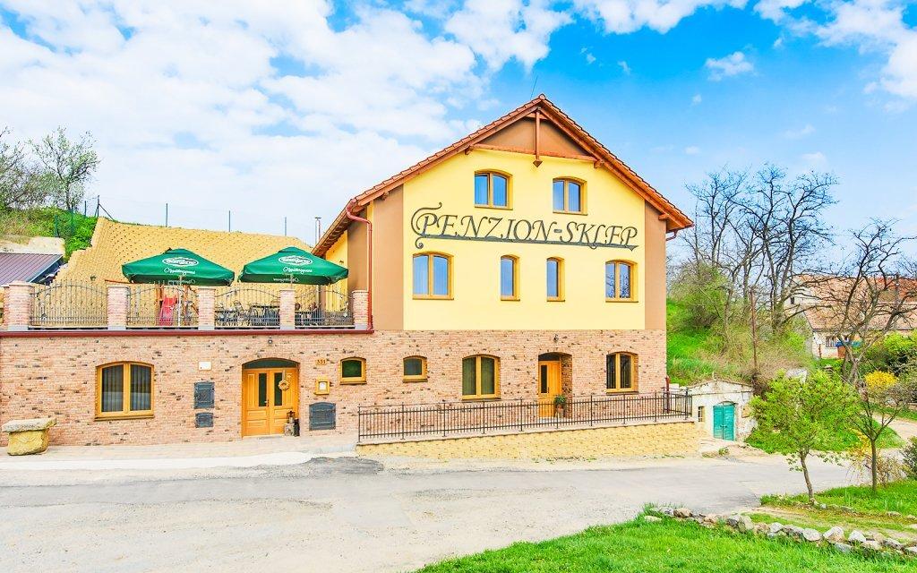 Jižní Morava v Penzionu Sklep se snídaní a neomezenou konzumací vína