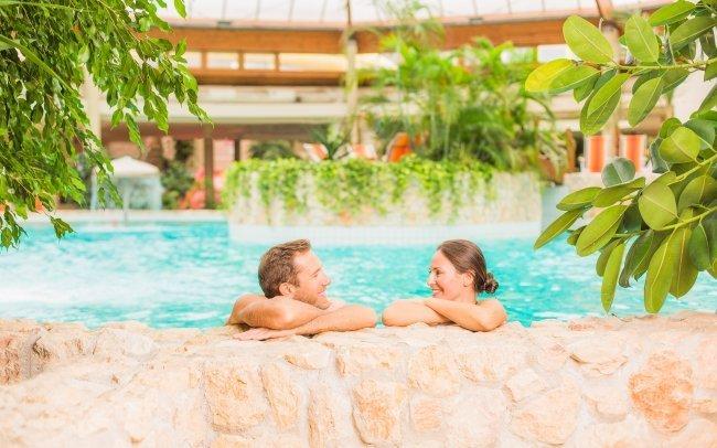 Maďarsko: Hotel Gastland Átrium *** s polopenzí a celodenním vstupem do termálů