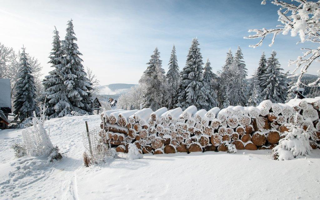 Rekreační chalupy Stodoly v klidné části Krkonoš u ski areálu a až pro 12 osob