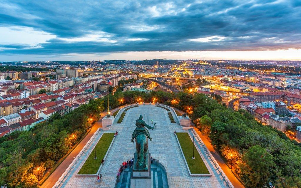 Pobyt v A&O Praha Metro Střížkov s bohatou snídaní a fantastickým výhledem