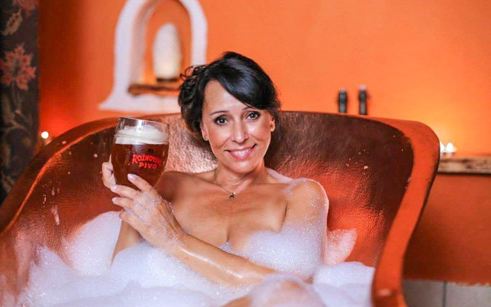 Rožnovské pivní lázně: pobyt s jídlem a pivními i mořskými procedurami