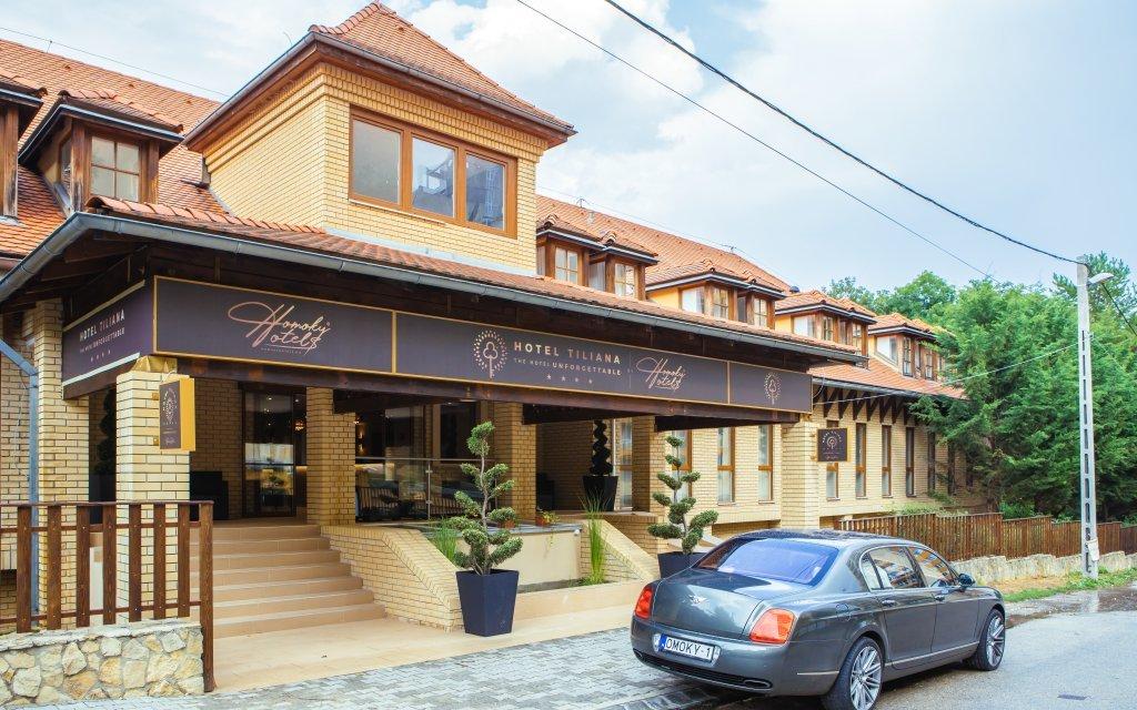 Budapešť v moderním Hotelu Tiliana **** v parku se snídaní a sportovním vyžitím