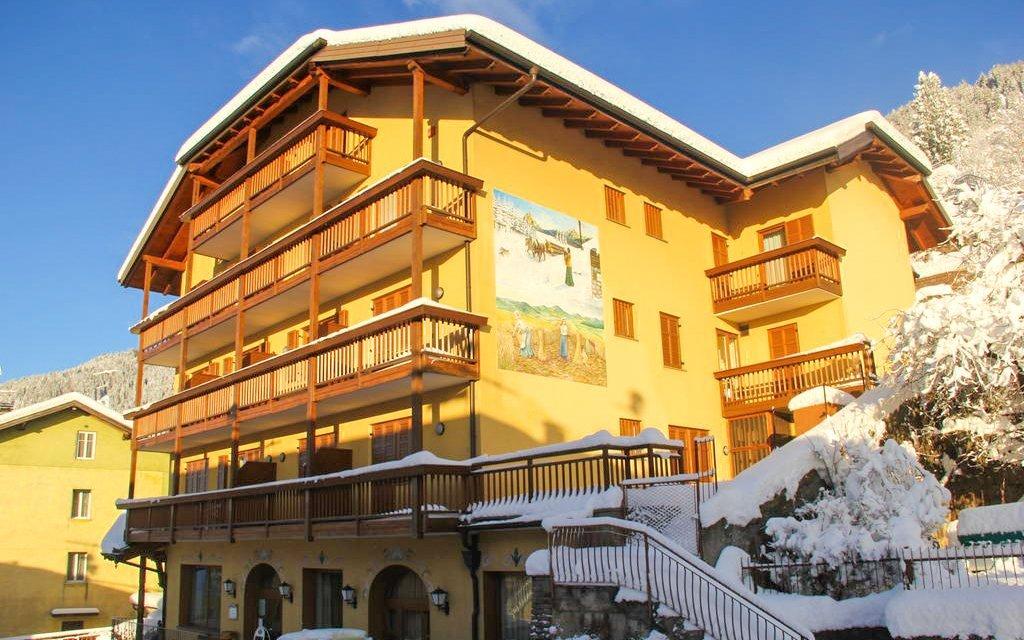 Italské Alpy v rodinném Hotelu Dolomiti *** u přírodního parku s polopenzí