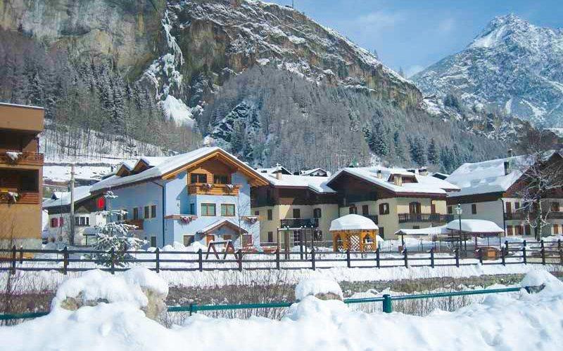 Itálie v rodinném Hotelu La Val s polopenzí jen 500 m od lyžařského vleku