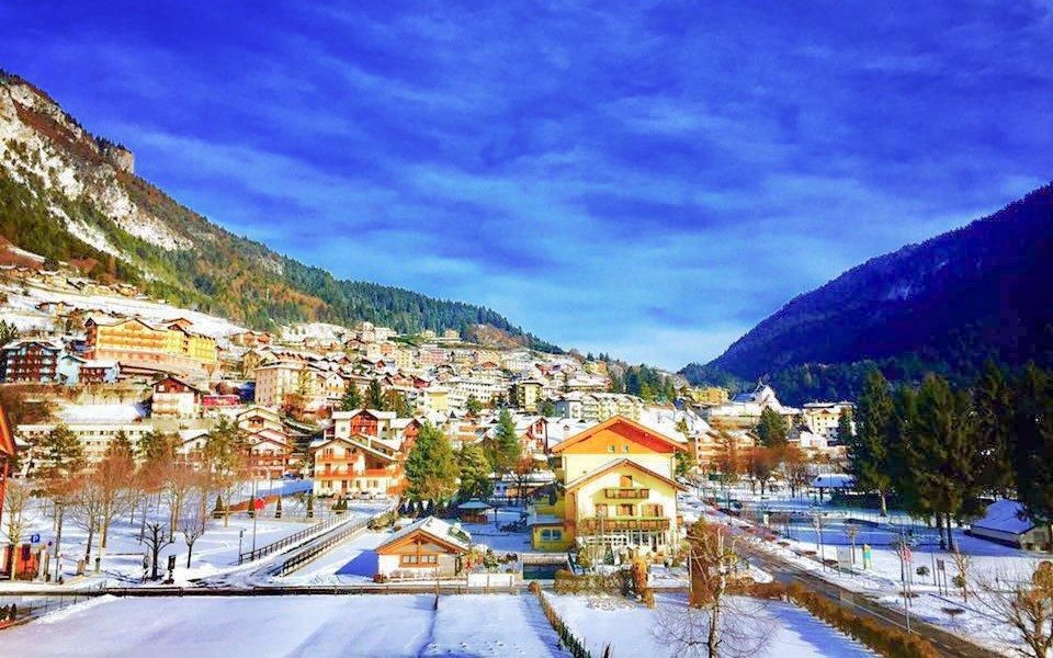 Dolomity v Hotelu Du Lac Vital Mountain *** s polopenzí blízko ski areálu